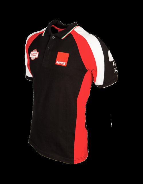 Polo Racing rouge et noir
